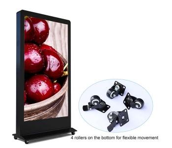 84 Inch Outdoor Waterproof Advertising Player Digital Signage Display