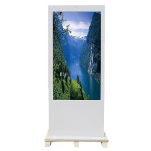 Floor Standing Outdoor Advertising Display Digital Signage Screen