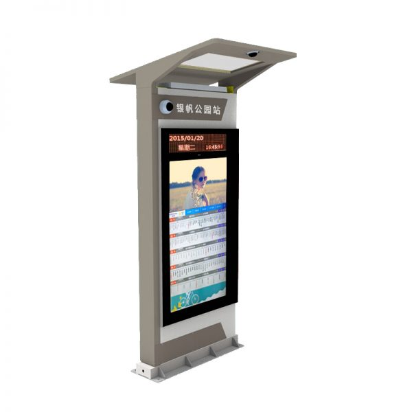 Smart Bus Stop Schedules and Routes Digital Display Signs 3